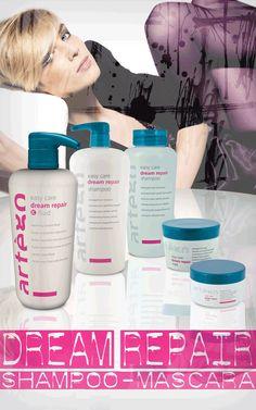 Tratamiento reparador para cabellos dañados #Artègo Dream Repair #peluquería #belleza