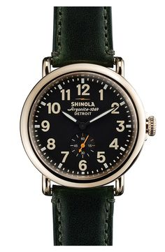 Made in America: Shinola Emerald Watch