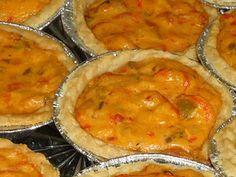 Spicy Crawfish Mini Pies