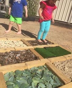A huge collection of ideas for creative outdoor play areas shared by early years educators. Try them in the backyard or daycare spaces! # daycare spaces Ideas for Children's Outdoor Play Areas and Activities Outdoor Learning Spaces, Kids Outdoor Play, Outdoor Play Areas, Backyard Play, Outdoor Playground, Playground Ideas, Backyard Ideas, Outdoor Spaces, Eyfs Outdoor Area