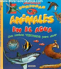 Animales en el agua, con muchas ventanas para abrir