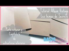 YouTube Album Gorjuss, Album Vintage, Mini Scrapbook Albums, Youtube, Exterior, Greeting Cards, Cards Against Humanity, Templates, How To Make