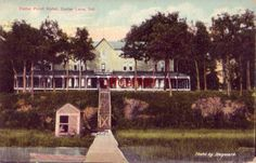 CEDAR POINT HOTEL, CEDAR LAKE, IN. 1912 photo by Hayward