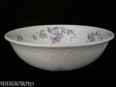 Pfaltzgraff Grapevine Round Vegetable Serving Bowl Made in USA ...
