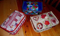 Nickels Pickles: sewing box-Tutorial.  Maybe convert to lunch box or DIY packing cubes.