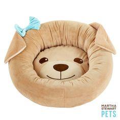 #MarthaStewartPets Puppy Face Cuddler Dog Bed only @petsmartcorp
