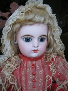 Eden Bébé Paris 20 inches or 50 cm doll, closed mouth. from dollcabinet on Ruby Lane