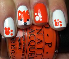 Nails by an OPI Addict: Fox Nails