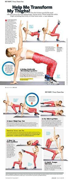 Tracy's April issue columns - Tracy Anderson - Cristine P. Tracy Anderson Workout, Tracy Anderson Method, Anderson Arms, Fitness Tips, Fitness Motivation, Health Fitness, Health Diet, Hair Health, Mental Training