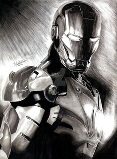 Iron Man by Anthony-Woods on DeviantArt