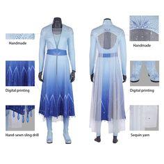 Disney Cosplay Costumes, Elsa Cosplay, Cosplay Dress, Costume Dress, Frozen Cosplay, Teen Costumes, Woman Costumes, Couple Costumes, Pirate Costumes