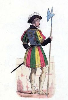 French kings body guard. Alter for paroles 1st quarter