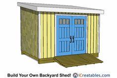 24 Best 10x12 Shed Plans Images 10x12 Shed Plans Backyard Sheds