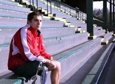 Ranjit Steiner, UO junior and aspiring Paralympian. Great young man, great story.