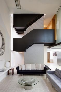 Architecture, Black And White Interior Color Decorating Ideas Modern Living Room Design With Glass Oval Table And Leather Sofa: The Incredib. Interior Design Usa, Interior Design Inspiration, Interior Design Living Room, Interior Decorating, Simple Interior, Room Interior, Design Ideas, Living Room Modern, Home Living Room
