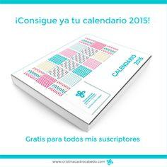 ¡Te regalo el calendario imprimible del 2015!