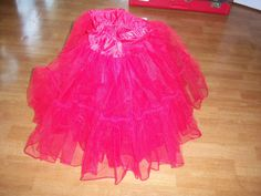 Petty coat Red by Traincasesandmore on Etsy, $25.00