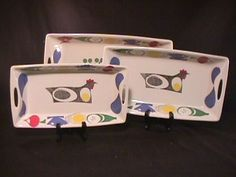 1 Scandinavian Design, Third, 18th, Auction, Bowls, Pattern, Colour, Collection, Cards
