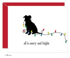 Dog Holiday Cards Christmas Cards Christmas Dogs by nelladesigns, $15.00