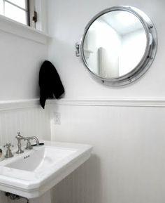 Porthole Mirror Cabinet
