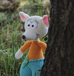 Crochet Pattern Mouse - Bernie - Crochet Mouse Pattern. Stuffed Mouse / Softie / Amigurumi