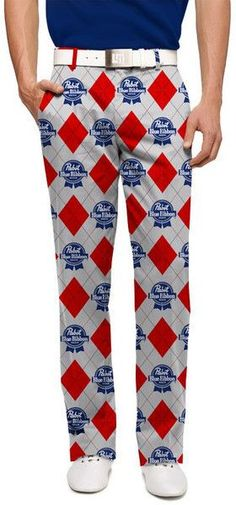 a0c9af2d04a9c PBR Loudmouth Golf Pants Loudmouth Golf Pants, Pabst Blue Ribbon, Golf  Spikes, Golf