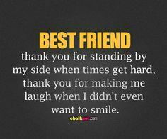 Thank You Best friend!!!!!