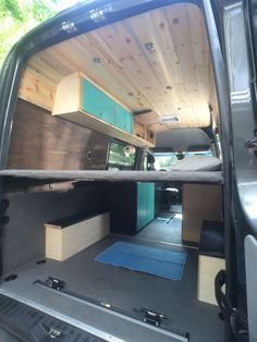 A detailed write up on the van buildout and the ideas behind what was done.