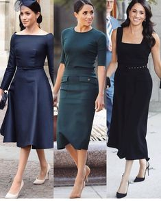 Meghan Markle Style – Best Looks of Her! Meghan Markle Stil, Meghan Markle Dress, Meghan Markle Outfits, Princess Meghan, Royal Dresses, Royal Fashion, African Dress, African Fashion, Dress Skirt