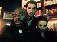 "Colman Domingo: ""Who is the lucky guy to work with these amazing people? Me!!!"" // Lauren German // Tom Ellis"