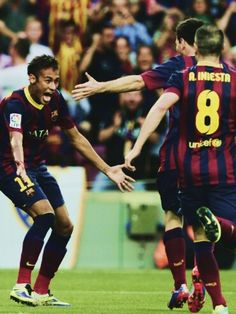 Neymar Jr - Messi - Iniesta (El clásico)