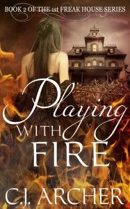Cover of Playing With Fire, book 2.