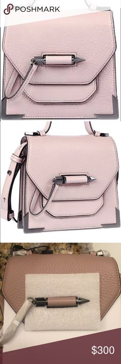 Mackage crossbody Rubie Blush Pink New new ! protections are still on. Price firm. Will be lower on Eeeeebay Mackage Bags Crossbody Bags