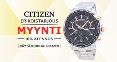 Buy Citizen Watches For Men & Women at 10% OFF,  Use Coupon Code : CITIZEN,  Hurry Up Guys...!!!