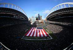 Seahawks vs Viking, 17 November 2013 #SeahawksSalute