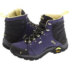 they feel like slippers. Hiked a w/no breaking-in period. and the color is fab! Ahnu Montara Boot Astral Aura Tracee Ellis Ross had these on in the desert Hiking Gear, Camping Gear, Backpacking, Leather Industry, Hiking Essentials, Hiking Boots Women, Outdoor Wear, Trail Shoes, Walkabout