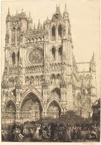 Amiens Cathedral (Cathedrale d'Amiens - Jour d'inventaire) , 1907