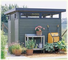 Hillhout Verona B Contemporary Shed