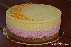 SÜTIK BIRODALMA: Málnás-karamellás mousse torta / Raspberry caramel mousse cake Cupcake Recipes, My Recipes, Hungarian Desserts, Torte Cake, Mousse, Pavlova, Diy Food, Cheesecakes, Macarons