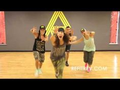 "REFIT® Dance Fitness, ""Roar"" Katy Perry. ""ReFitRev"" for more dance workout"