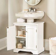 Muebles para lavabos con pedestal estilo clásico