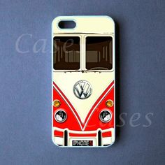 Iphone 5 Case - VW Mini Bus Red