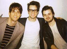 Dallon Weekes, Brendon Urie, Spencer Smith.