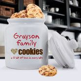 Found it at Wayfair - Personalized Gift Family Cookie Jar