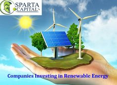 Hire a company that renewable your energy with new technology and save your energy bills. Sparta Technologies offers the newest techniques for green energy in Calgary. For more info visit us: http://www.spartacapital.com/.