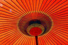 Umbrella orange!