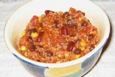 Taco Soup from the Pantry | VegWeb.com, The World's Largest Collection of Vegetarian Recipes