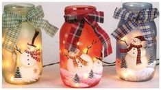 You may be looking for a jar for your candles or some holiday candy or chocolate. This Snowman Mason Jar idea is cute and fun to do, especially if you love t...