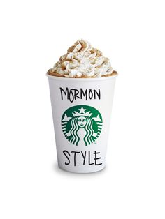 The Mormon Guide to Starbucks. Awesome.