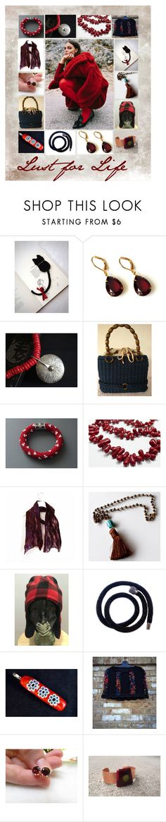 """""""Lust for Life: Stunning Handmade Gift Ideas"""" by paulinemcewen on Polyvore featuring country"""
